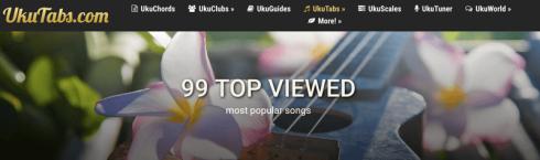 ukutabs músicas mais populares ukulele